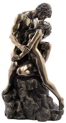 Veronese Bronze Figurine The Lovers Statue Ornament ~ Home Decor ~ Gift ~