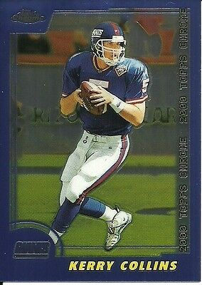 2000 Topps Chrome NFL No. 127 Kerry Collins