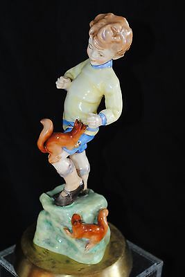 Vtg  Royal Worcester F.g.douchty Months Of The Year October #3417 Figurine