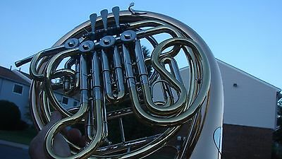 Holton Double French Horn 378 Hnsol200 Model Rose Brass Bell  Step Up