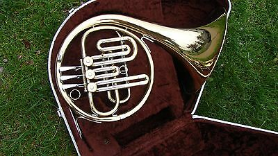 WHY RENT QUALITY BEGINNER'S F. E. Olds and Sons Ambassador French Horn, Bb case