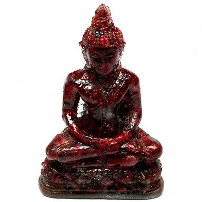 532.00 Ct. Buddha Resin Mold Red Ruby L3730