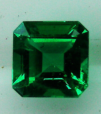 0.71ct!! NATURAL COLOMBIAN EMERALD NATURAL COLOUR +CERTIFICATE INCLUDED