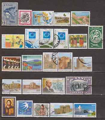 GRECE  GREECE - Lot de timbres oblitérés