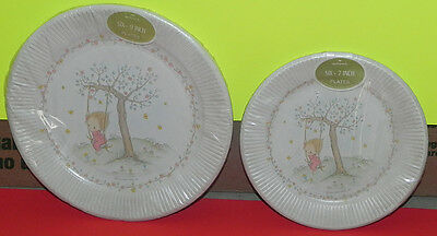 Vintage Betsey Clark Hallmark Paper Party Plates 2 Packages Lunch/Dessert 1970s
