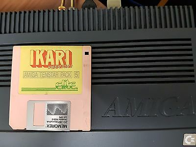 Amiga original Game IKARI WARRIORS disk only working