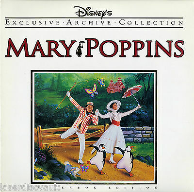 Mary Poppins Laserdisc (1964) [1588 CS] Disney Exclusive Archive Collection