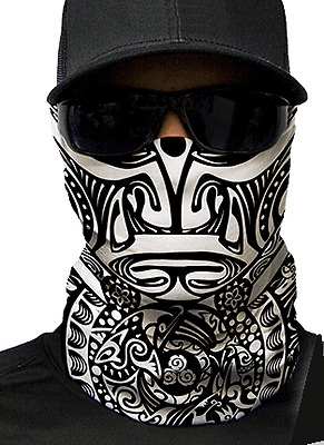 MOTORCYCLE FACE MASK - TRIBAL - (Moto, Hunting, Fishing, Paintball)