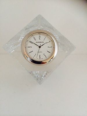 Marquis By Waterford Versa Clock RRP $149