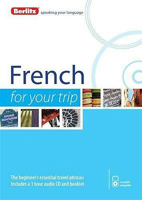 Berlitz Language: French For Your Trip (Berlitz For Your Trip) by  | Audio CD Bo