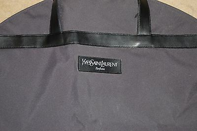 Ysl New   Grey/ Black    Suit Carrying Bag