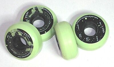 4 Stück Kryptonics LYRA / VEGA Stunt Rollen wheels 57 mm 88A