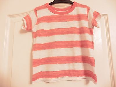 Baby Boys Red Stripey T-Shirt for age 9-12 months (Matalan)