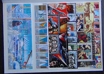 Equatorial Guinea 1972 Paintings Space Yachts sets & Miniature Sheets VFU