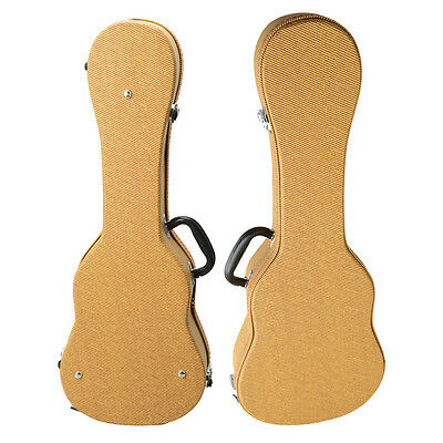 "New 26"" Top Grade Tenor Ukulele Uku Case Bag String Yellow Musical Instruments"