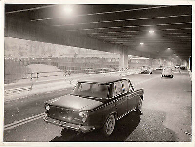 Fiat Cars In Underpass Photograph.