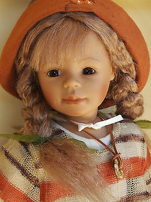 "MIB HELENE 20"" DOLL ZAPF  BY BETTINA FEIGENSPAN-HIRSCH collectors doll"