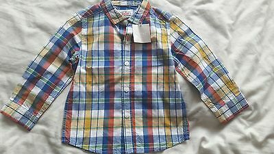 Next baby boys 12-18 months summer shirt New with tags