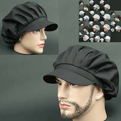COOK CLS BLACK chef catering baker Kitchen food factory Worker Hat