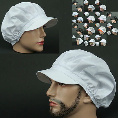 COOK CLS WHITE chef catering baker Kitchen food factory Worker Hat