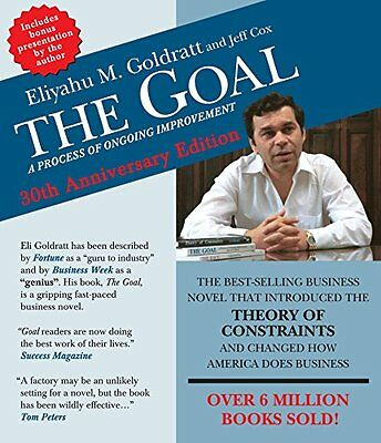 The Goal A Process of Ongoing Improvement 30th Anniversary Edition 4th CD Book