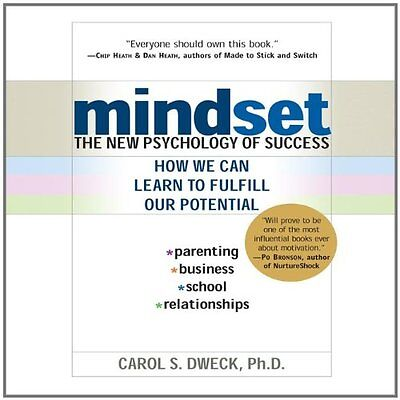 Mindset The New Psychology of Success Carol Dweck Your Coach In A Box Anglais