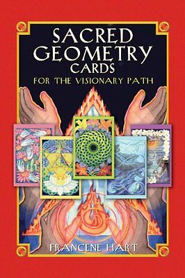 Sacred Geometry Cards for the Visionary Path Francene Hart Bear & Company Br