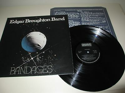 Edgar Broughton Band - Bandages - Nems Uk 1976 Rare Original