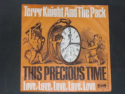7-Single-Beat-Psychedelic-TERRY KNIGHT AND THE PACK-Love,Love,Love,Love,Love