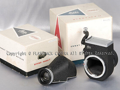 Leitz Leica Visoflex II Mirror Reflex Attachment 16455J 16460T OTXBO #011028