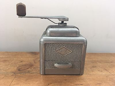 Vintage Moulux Metal Coffee Grinder Mill 1930's French