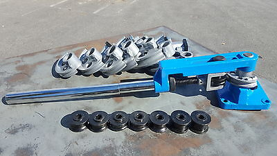 Multi-Purpose Pipe Bending Tool Kit  Round / Square Metal Tube & Pipe Bender