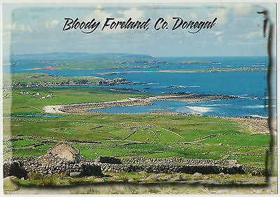 BLOODY FORELAND Co. DONEGAL EARLY 2000s JOHN HINDE POSTCARD UN-POSTED 2/DL 77