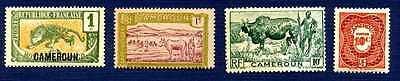CAMEROON-#147,170,304,J24-Group of 4-MNH