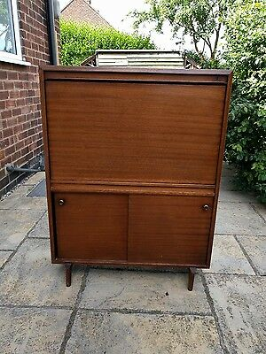 Beaver And Tapley Retro Vintage Mid Century Stylish Drinks Cabinet / Bureo