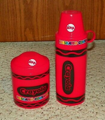 Crayola Crayon - Insulated Thermos & Food Container - RED