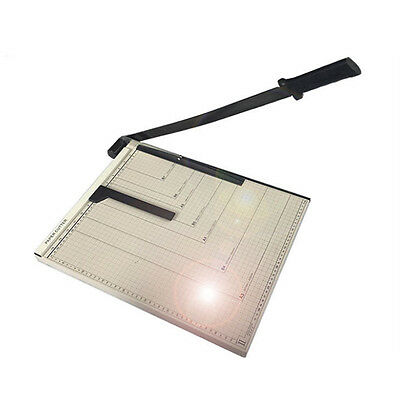 Adjustable Heavy Duty A3 Paper Card Trimmer Precision Guillotine Cutter Office