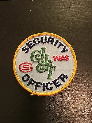 Louisville Kentucky Courier Journal And Times Whas Security Officer Patch
