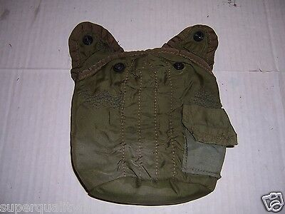 Canteen cover US military genuine GI military vietnam war 1960's w/plastic snaps