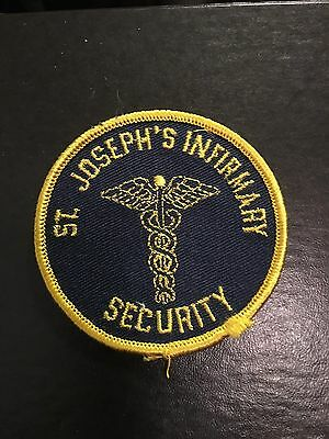 Louisville Kentucky Old St Joseph Infirmary Hospital Security Patch