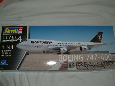 1/144 Boeing 747-400 `iron Maiden` Ed Force One, Revell Plastic Kit