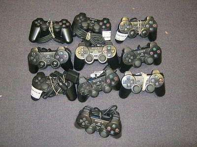 Lot of 10 Defective PS2 Controllers