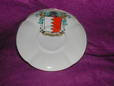 Goss Crested China Melon Tea Plate. Hinckley.
