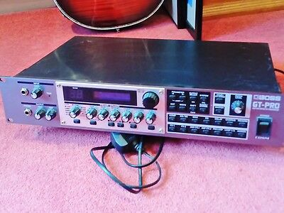 Boss Gt Pro Guitar Effects Processor