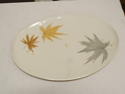 Iroquois Informal True China Ben Seibel Design Harvest Time Large Platter 15""