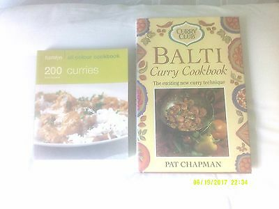 2 Curries Books - 200 Curries & The Balti Cookbook