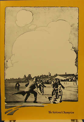 1920 Harley-Davidson  The National Champion Catalogue And Sales Booklet