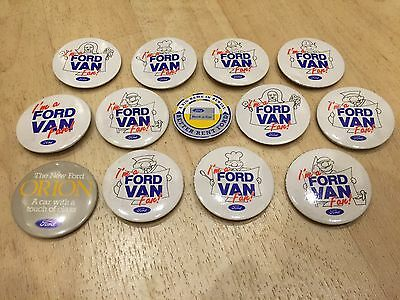 Collection Of Ford Promotional Badges Van Orion