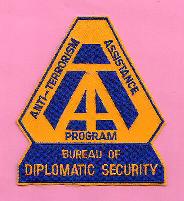 L18 * Dss Embassy Anti-Terrorism Assistance Federal Ice Fbi Swat Police Patch