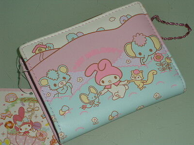 My Melody Kiss-clasp wallet purse #05